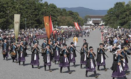 時代祭(京都新聞)