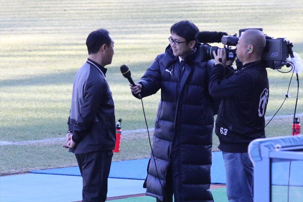 勝利監督インタビュー