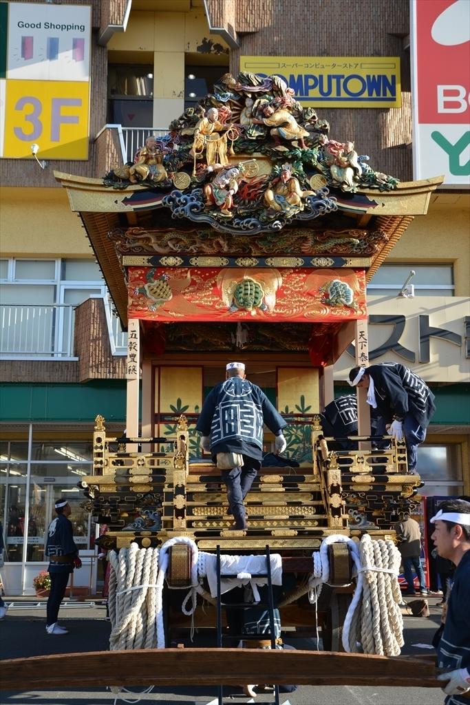 中町屋台の歌舞伎奉納には間に合わなかった_8