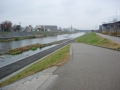 181222勧進橋から鴨川に下りる道が出来ていた