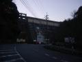 190104天理ダム堰堤下