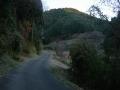 190104長滝の集落を抜けてさらに上る