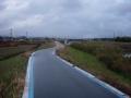 190126佐保川の自転車道を南下