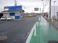 190126富雄川から郡山市街地への自転車レーン