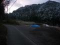 190202山の木々には雪が残る