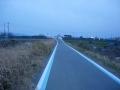 190209稗田橋で中洲から右岸に切り替えさらに南下