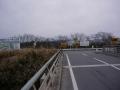 190209桜橋の浄化センターで南からの自転車道に合流