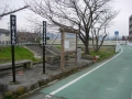 190209秋篠川の自転車道に出る