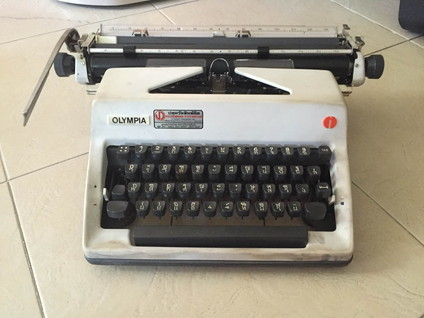 Big typewriter