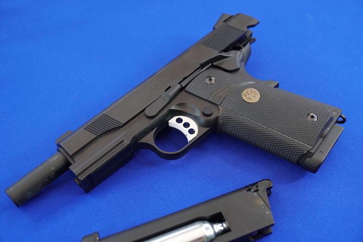 Carbon8 M45CQP試射