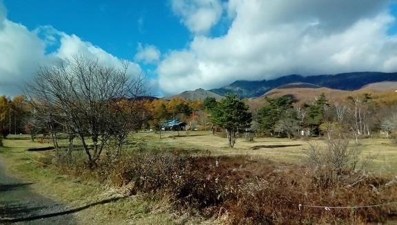 バラギ高原キャンプ場です。