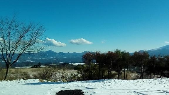 バラギ高原よりの浅間高原です。