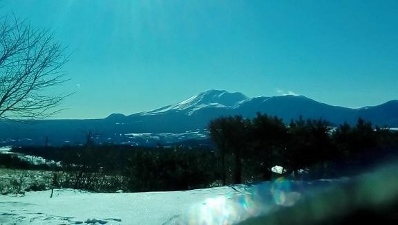 浅間山です。12月19
