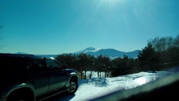 浅間山です。 1月4日