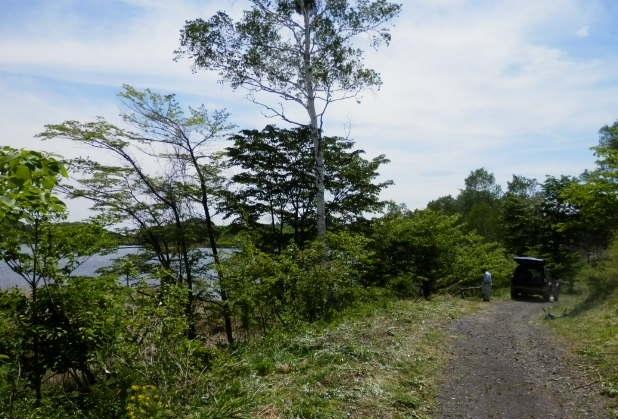バラギ湖遊歩道 no2