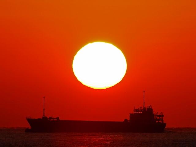 190119明石海峡大橋夕陽5