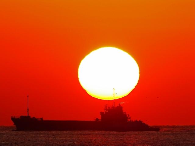 190119明石海峡大橋夕陽7