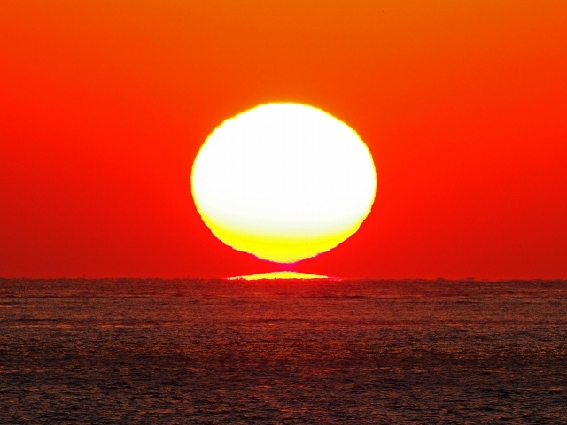 190119明石海峡大橋夕陽9