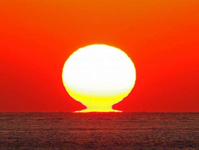 190119明石海峡大橋夕陽11