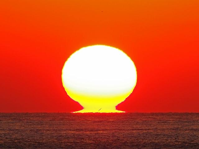 190119明石海峡大橋夕陽13