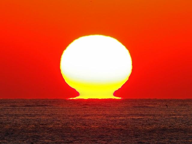 190119明石海峡大橋夕陽14
