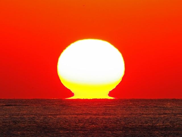 190119明石海峡大橋夕陽15