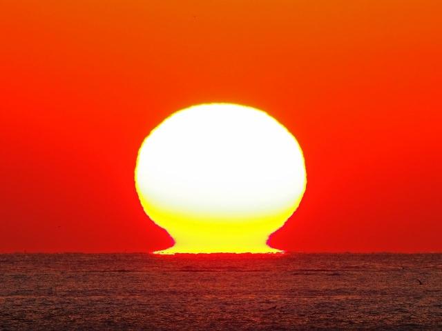 190119明石海峡大橋夕陽16