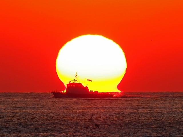 190119明石海峡大橋夕陽21