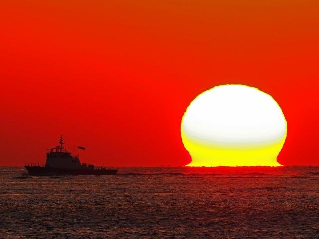190119明石海峡大橋夕陽24