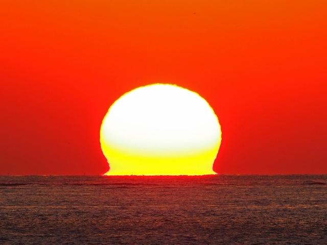 190119明石海峡大橋夕陽25