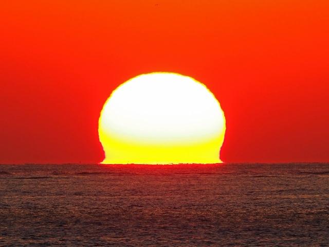 190119明石海峡大橋夕陽27