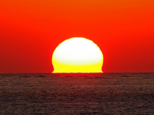 190119明石海峡大橋夕陽28