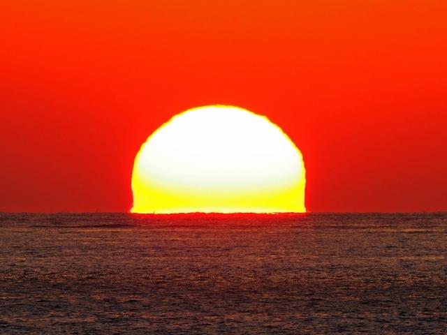 190119明石海峡大橋夕陽29