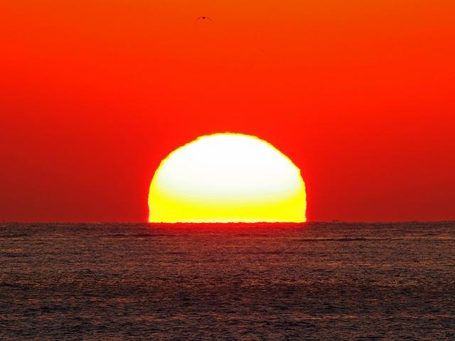 190119明石海峡大橋夕陽30