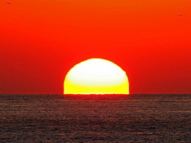 190119明石海峡大橋夕陽31