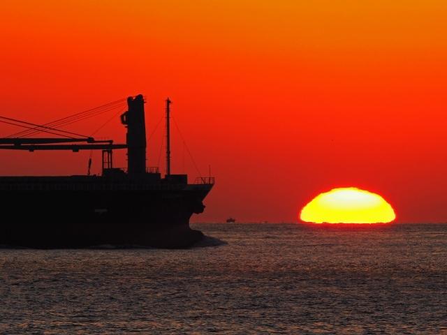 190119明石海峡大橋夕陽32