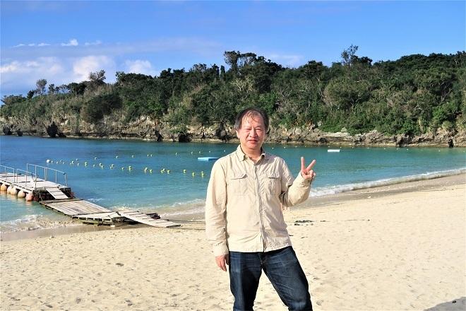 201812沖縄旅行_伊計島ビーチ(1)