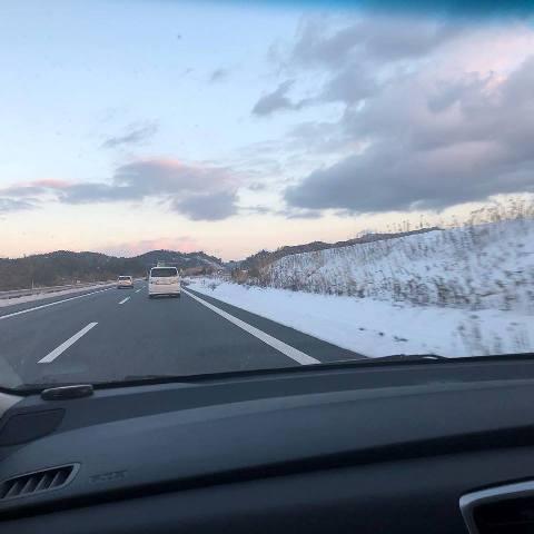 すっかり雪景色 甲賀市
