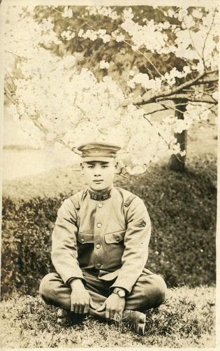 上等兵時代の祖父