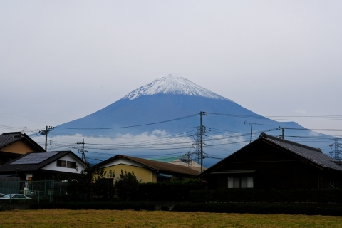 22富士宮郊外の富士山