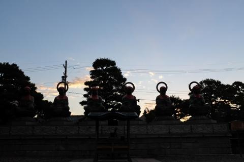 34早朝の善光寺