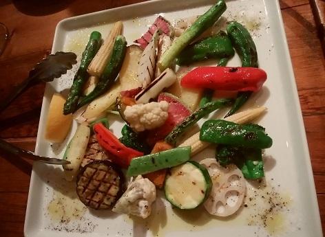 クワット 焼き野菜