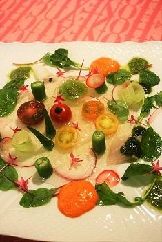 甘海老と彩野菜サラダweb