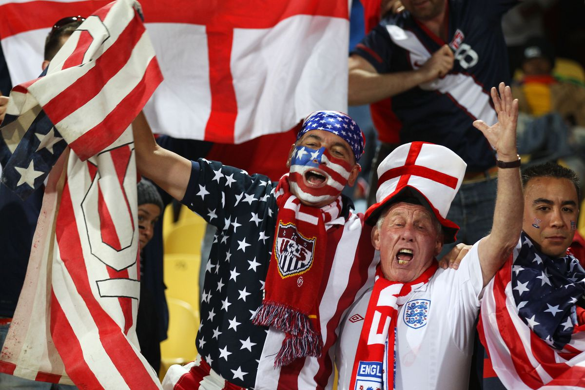 イングランド対アメリカ