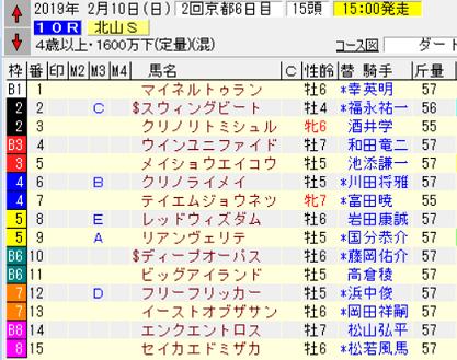 19北山S