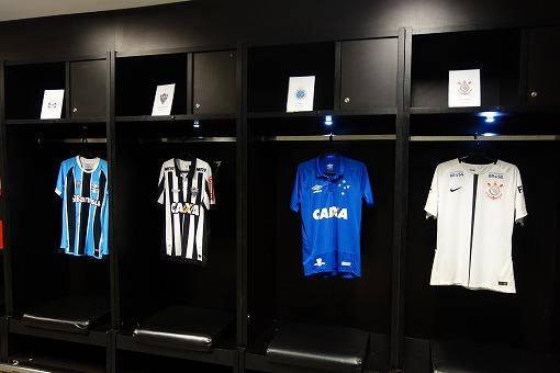 ブラジル1部リーグの所属チームのユニフォーム