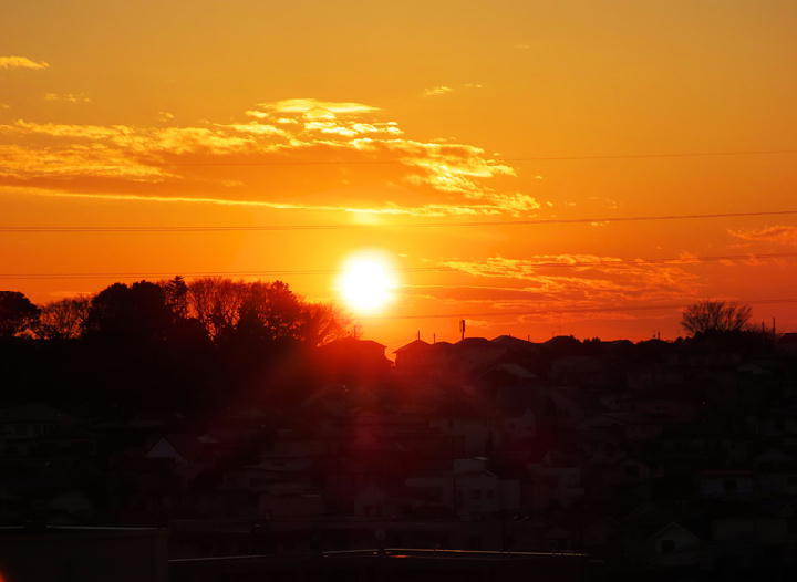 夕陽-150