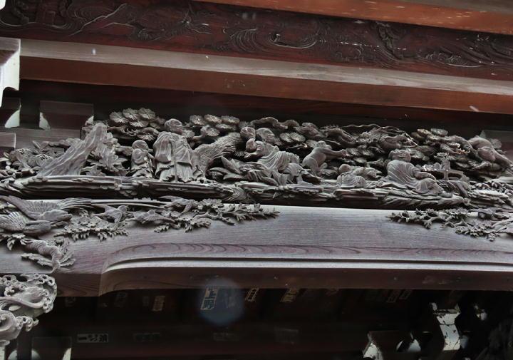 山門の彫刻-787