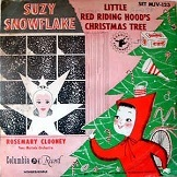 Rosemary Clooney With Tony Mottola Orchestra Little Red Riding Hoods Christmas Tree