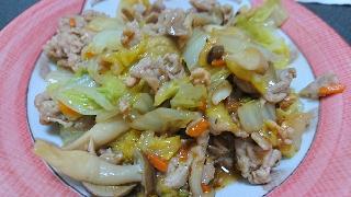 野菜炒め2月14日